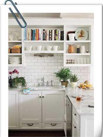 小户型厨房收纳唯美案例让厨房充满趣味(组图)