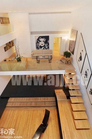 室内装修效果图大全2012图片-复式公寓楼梯设计 完美创意为家居增色