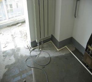 地康水电地暖改造