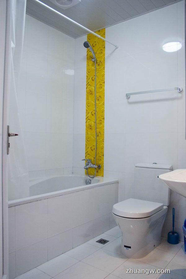 交换空间效果图-白色经典-卫生间装修效果图_卫生间图