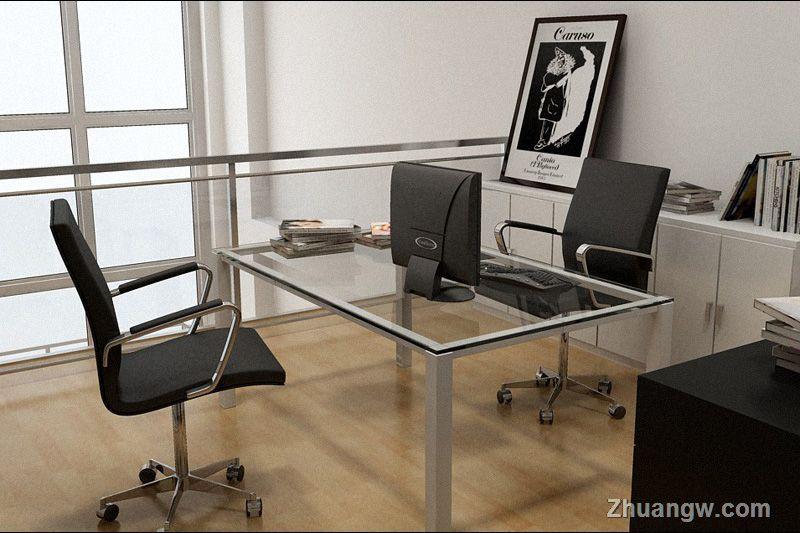 现代简约风格 黑白配 卧室效果图 复式 现代 4万 装修图库