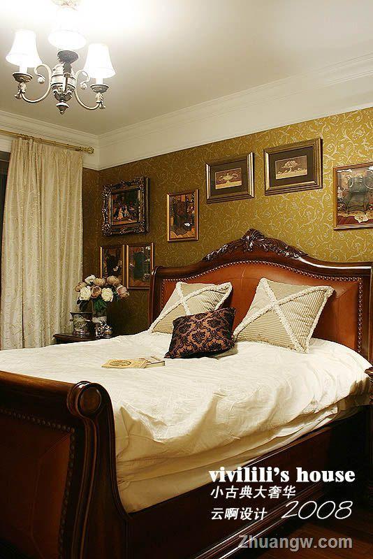 三室一厅装修效果图 小古典大奢华 客厅设计效果图大全 客厅设计效果