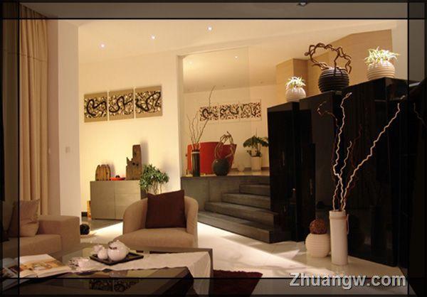 错层装修 时尚与经典并肩 客厅装修效果图 客厅装饰效果图 客厅装潢效
