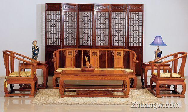 家具 - 上品家居网   客厅红木家具摆放风水解析   客厅装修
