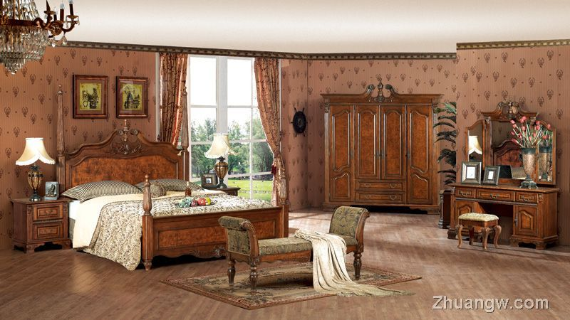 中信欧式家具-中信家具图片-美特美家系列(四)