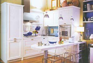 35平米小户型装修 小公寓多功能惬意生活 厨房设计效果图