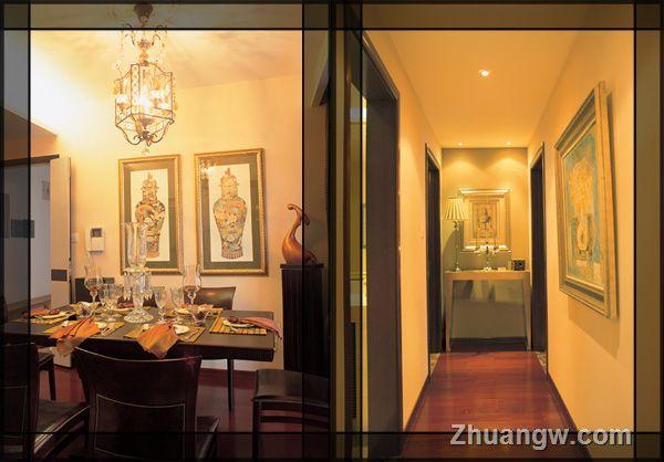 两室两厅装修 低调奢华 餐厅设计效果图大全 餐厅设计效果高清图片