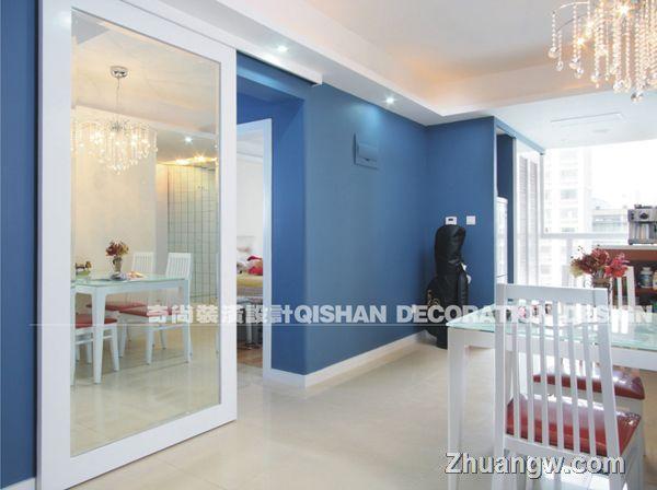 两室两厅装修效果图装修案例 餐厅装修设计图片 餐厅装潢设计
