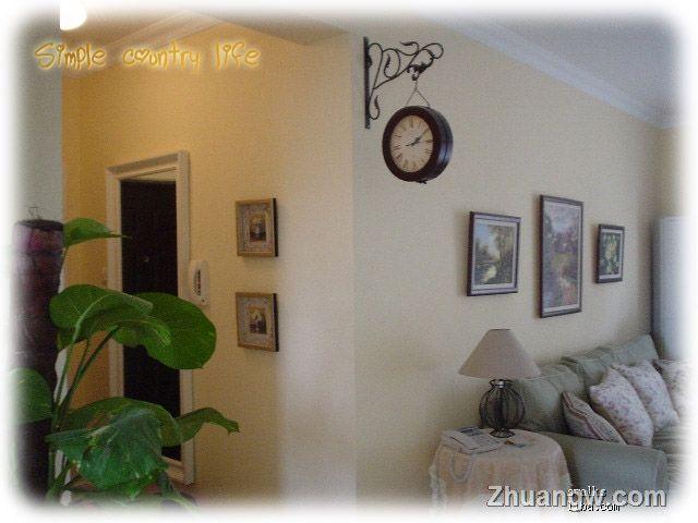 两室两厅装修 简洁欧美意,恬淡乡村情 过道装修效果图 过道装饰效果