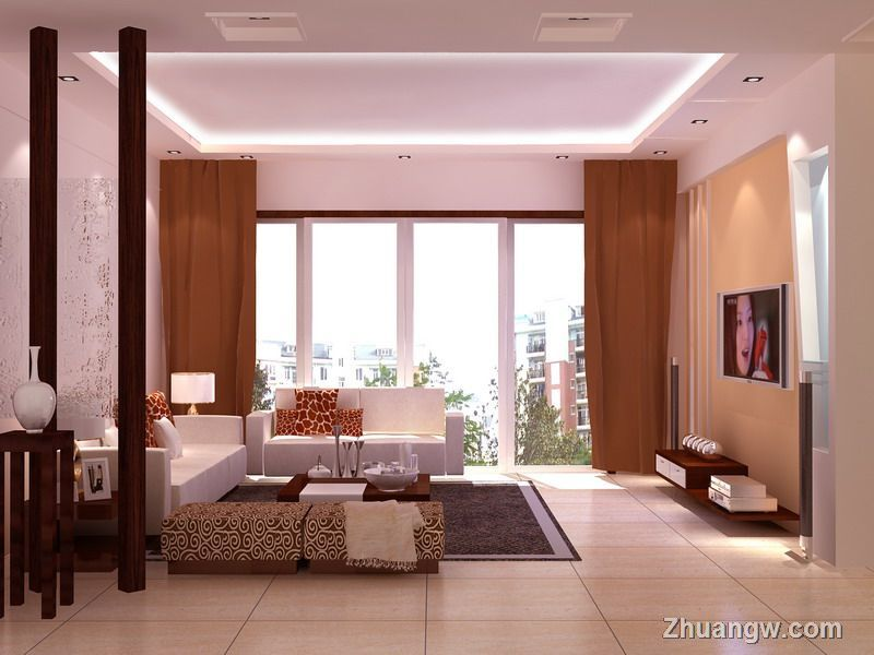三室一厅效果图 八种简约风格 简约风格装修图片 简约风格