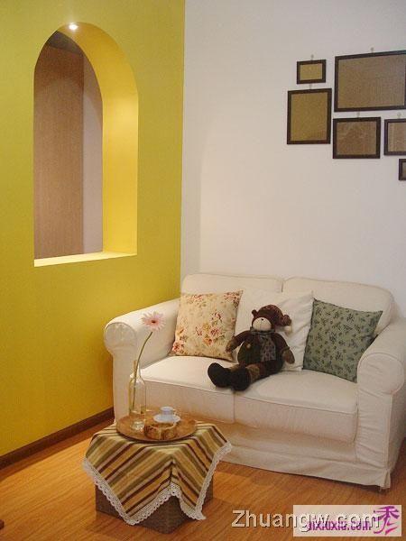 40平方最舒适养眼的小家 简约风格装修图片 简约风格装饰图