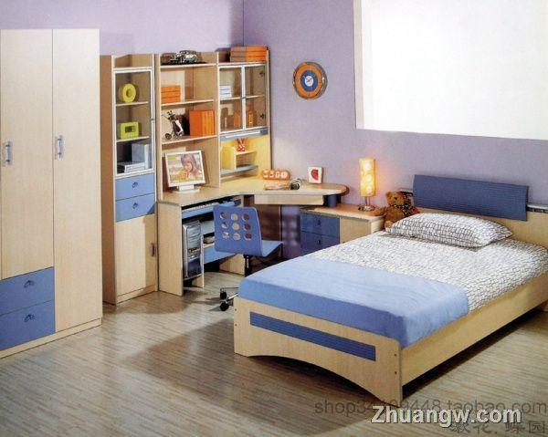 男童卧室装修图片欣赏