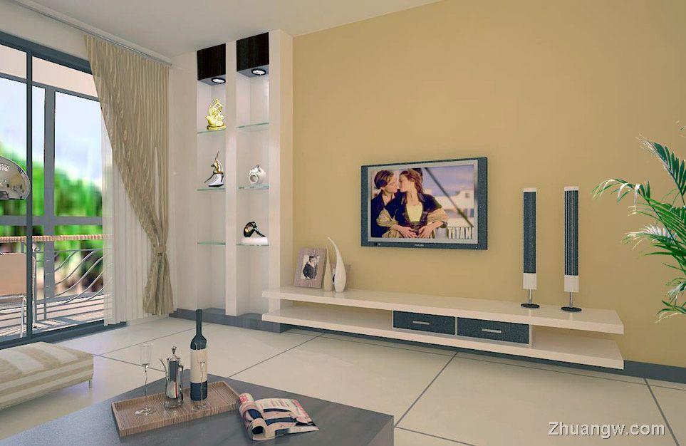 简装效果图 3至5万简装三室两厅 客厅简装效果图 家装效果