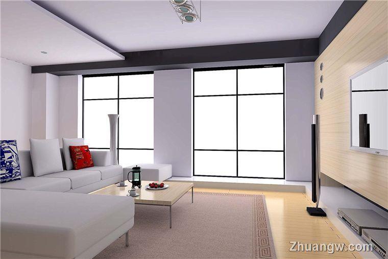素色客厅效果图 时尚装修效果图 素色客厅效果图 时尚装修图片 素色客