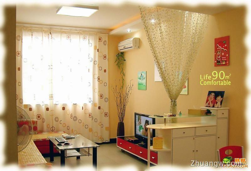 90平米装修实用效果图,90平米装修实用效果图   房屋 简装