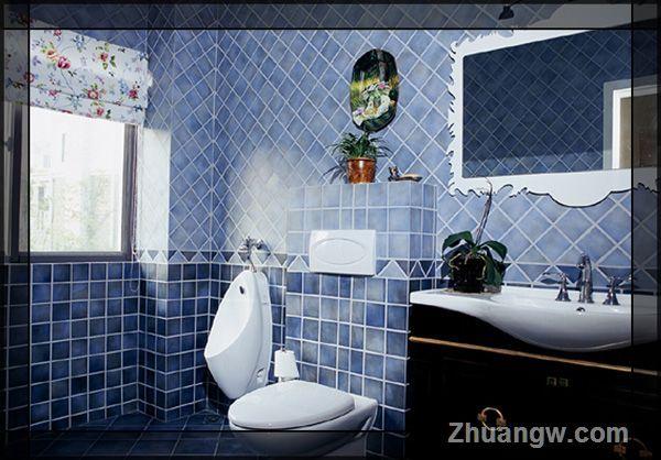 中欧合并别墅装修效果图 卫生间装修图片 卫生间装潢图片 卫生间装饰
