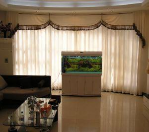 客厅现代风格布帘