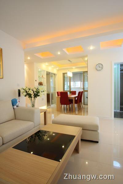 3房2厅2卫现代简约 客厅装修效果图 客厅装饰效果图 客厅