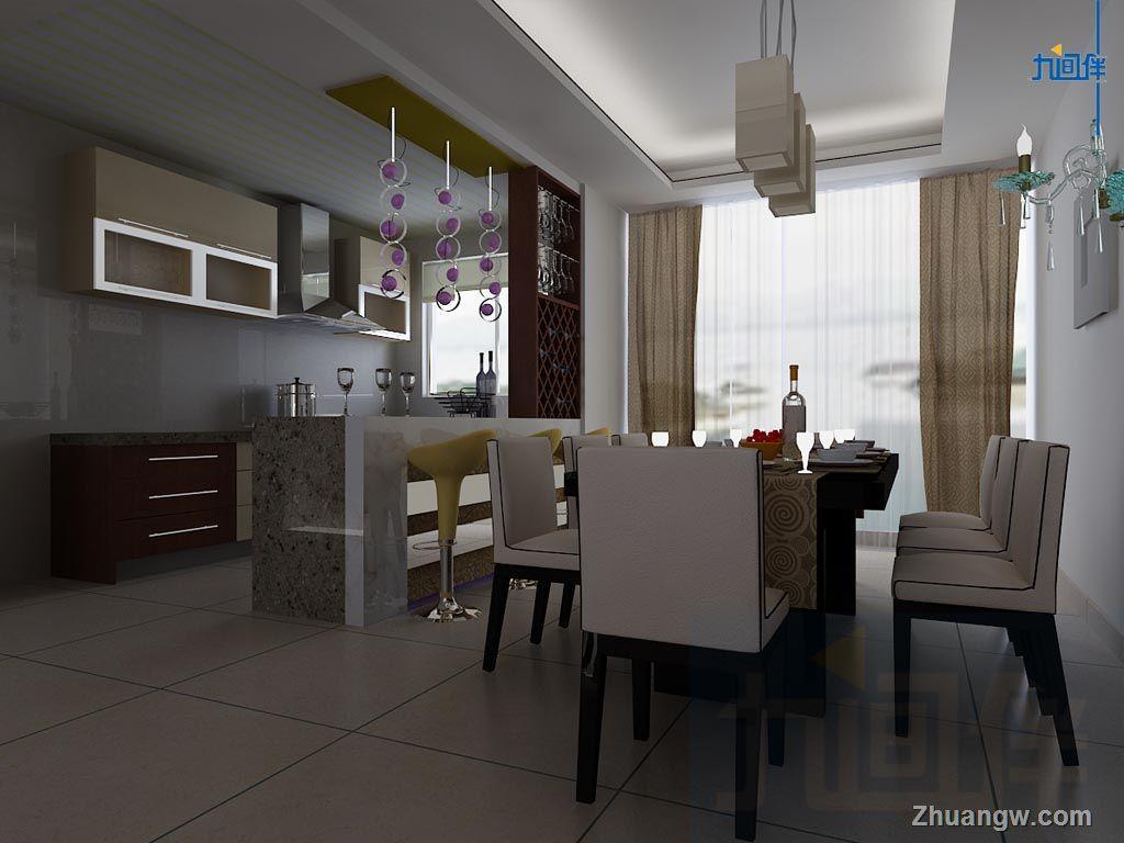 两室两厅装修效果图 高清图片
