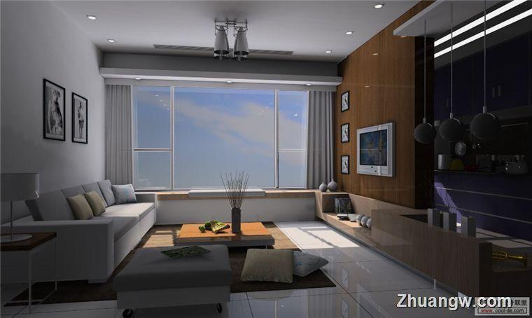 简洁大方客厅装修效果图装修效果图 简洁大方客厅装修效果图装修案例