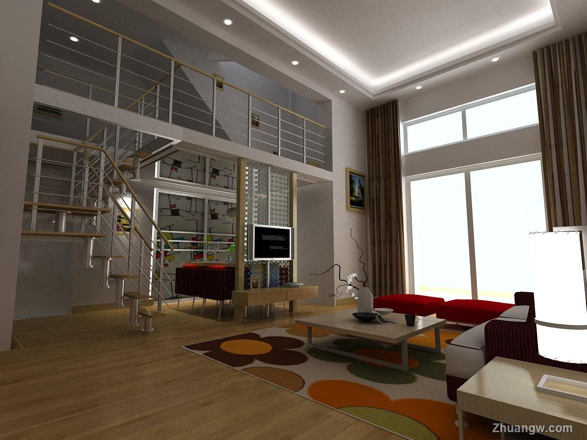 立体世界秦女士雅居 客厅效果图 客厅室内装修效果图 客厅