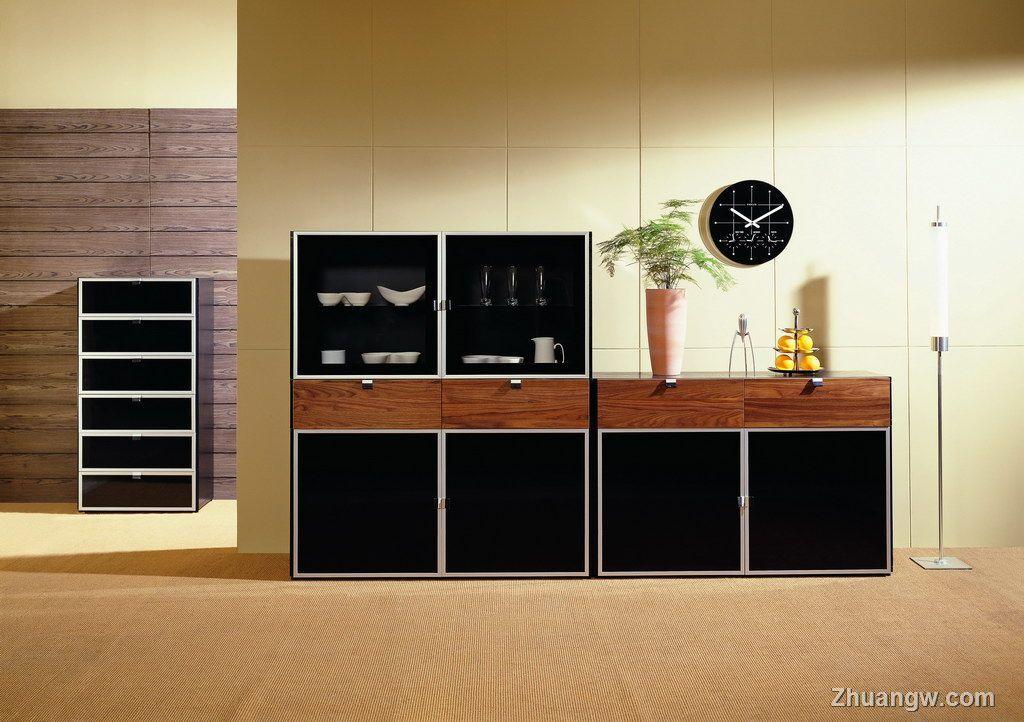 衣柜书柜合理设计图