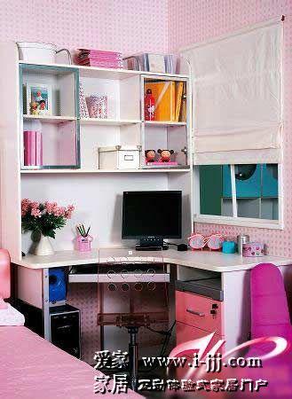 柔美动人的女孩房间 儿童房设计效果图大全 儿童房设计效