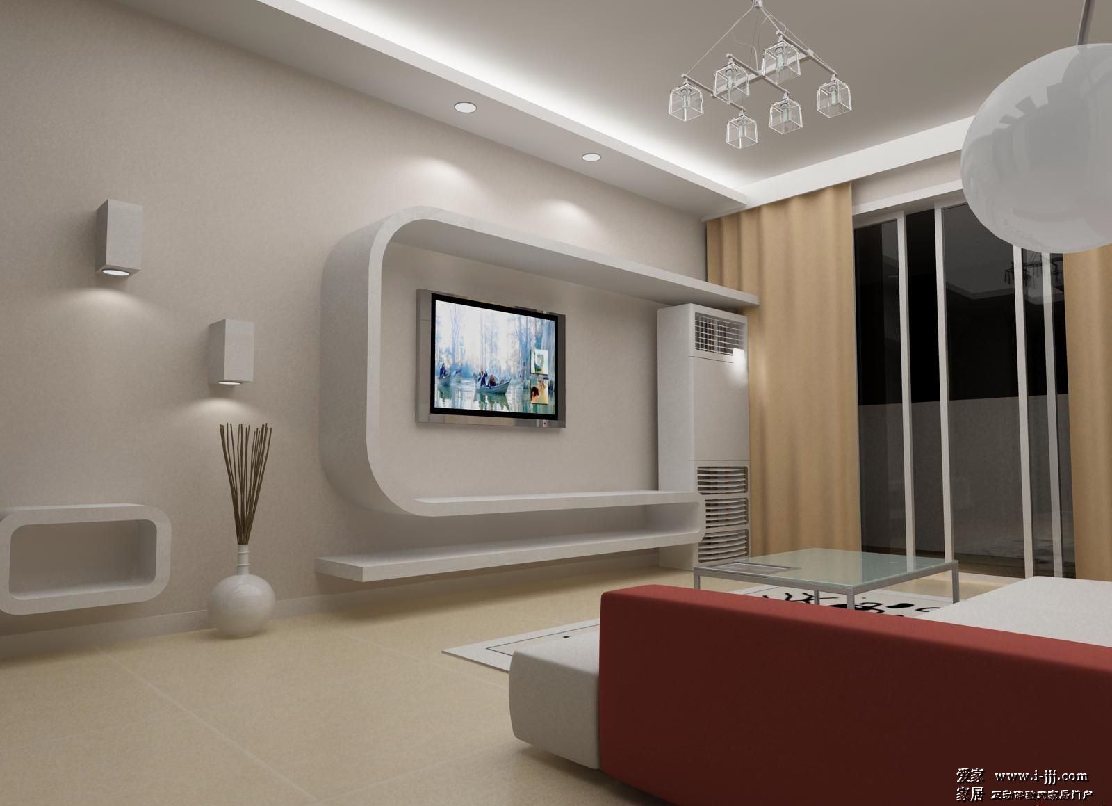 电视墙装修图片 电视墙案例 电视墙设计案例 电视墙设计图片