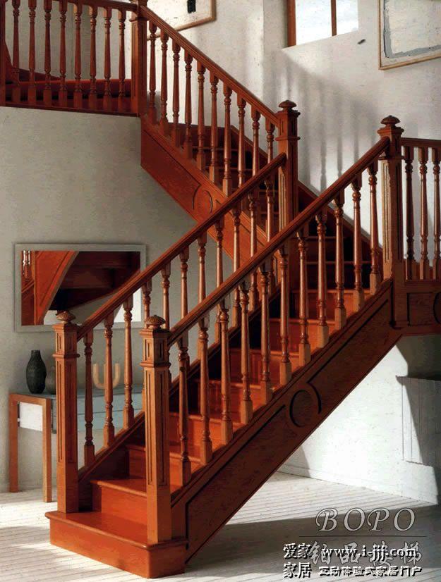 全木结构,适合欧式,中式装修风格的别墅和复式房.