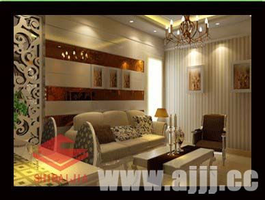 效果图 家居装修客厅效果图 家居装饰客厅效果图 二居 欧式