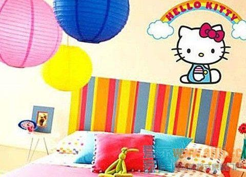 儿童房换装童趣壁纸快速打造童话世界