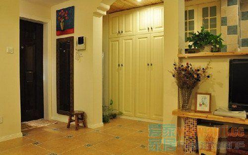 浓郁乡村田园风情 57平一室两厅小小安乐窝