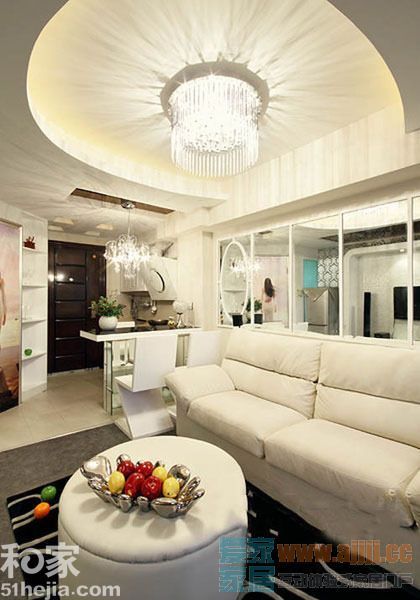 30平白色LOFT小公寓 缔造现代大气之风