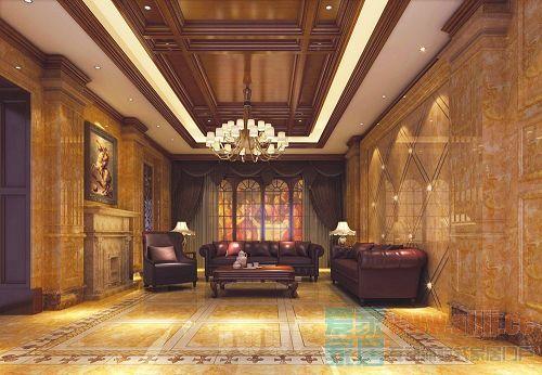酒店大堂之内墙