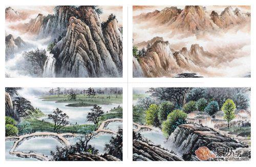 首页 风尚家居 行业快讯    国礼画家刘海青老师的八尺横幅山水国画
