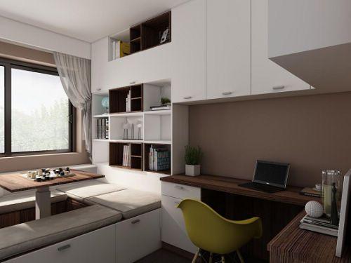 厨柜品牌我乐家居带来超靓厨柜效果图 帮你节省空间