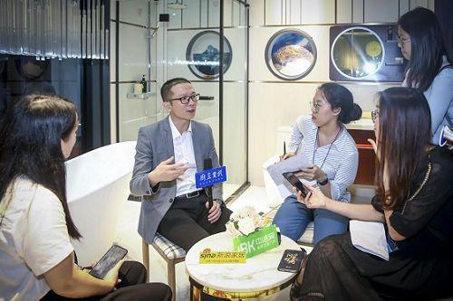 鹰卫浴闪耀亮相2019上海厨卫展,尽显硬核品牌实力