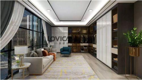 诺维家全屋定制:她家采用了这样的现代轻奢风,资深设计师都挑不出刺!
